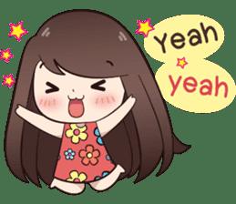 Boobib Summer Girl sticker #10144121