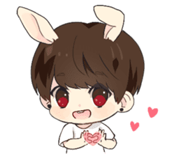 Bunny Jaykay sticker #10144224
