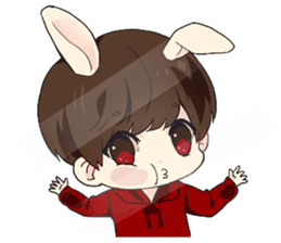 Bunny Jaykay sticker #10144241