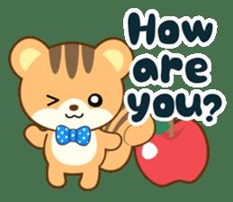 Sticker of a squirrel<English> sticker #10149054