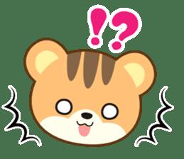 Sticker of a squirrel<English> sticker #10149057