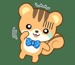 Sticker of a squirrel<English> sticker #10149059