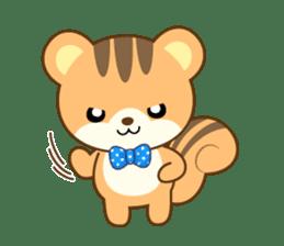 Sticker of a squirrel<English> sticker #10149068