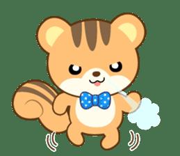 Sticker of a squirrel<English> sticker #10149074