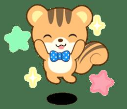 Sticker of a squirrel<English> sticker #10149075