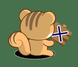 Sticker of a squirrel<English> sticker #10149077