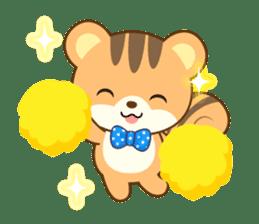 Sticker of a squirrel<English> sticker #10149081