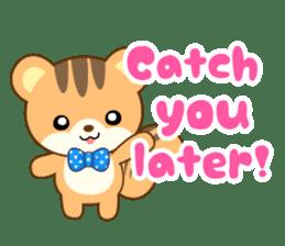 Sticker of a squirrel<English> sticker #10149082