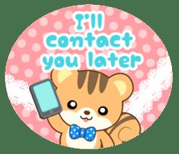 Sticker of a squirrel<English> sticker #10149085