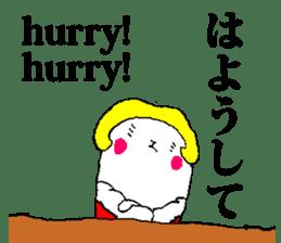 Japanese&English Stickers sticker #10149194