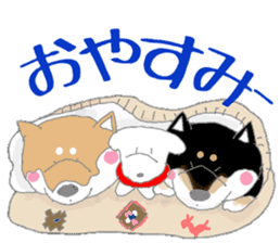 Midget Shiba MagRob and friends 6 sticker #10152656