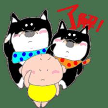 Midget Shiba MagRob and friends 6 sticker #10152668