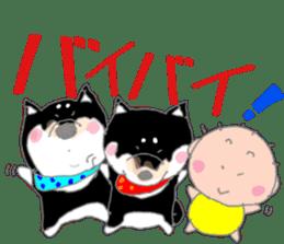 Midget Shiba MagRob and friends 6 sticker #10152679