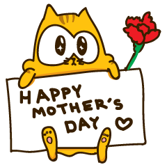Bruno the Cat! For Mother's day