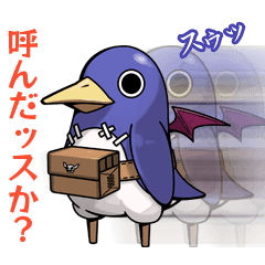 Prinny 2 with Lucky Board Stickers