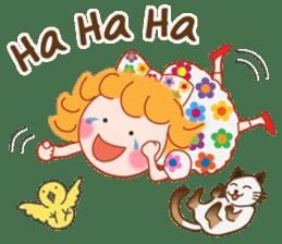 Cute Girl 2 by Masayumi (English Ver.) sticker #10166179