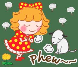 Cute Girl 2 by Masayumi (English Ver.) sticker #10166181
