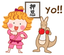 Cute Girl 2 by Masayumi (English Ver.) sticker #10166183