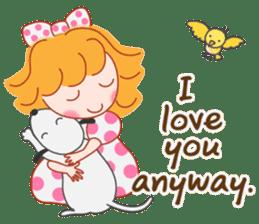 Cute Girl 2 by Masayumi (English Ver.) sticker #10166184