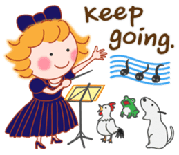 Cute Girl 2 by Masayumi (English Ver.) sticker #10166187