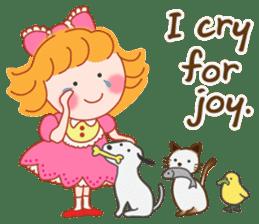 Cute Girl 2 by Masayumi (English Ver.) sticker #10166189