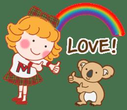 Cute Girl 2 by Masayumi (English Ver.) sticker #10166190