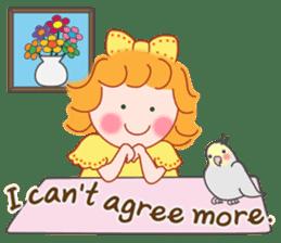 Cute Girl 2 by Masayumi (English Ver.) sticker #10166192