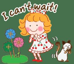 Cute Girl 2 by Masayumi (English Ver.) sticker #10166198