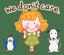 Cute Girl 2 by Masayumi (English Ver.) sticker #10166200