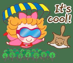 Cute Girl 2 by Masayumi (English Ver.) sticker #10166204