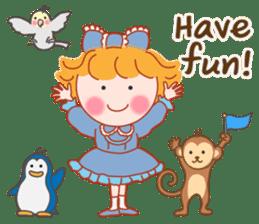 Cute Girl 2 by Masayumi (English Ver.) sticker #10166205