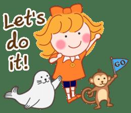 Cute Girl 2 by Masayumi (English Ver.) sticker #10166209