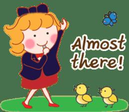 Cute Girl 2 by Masayumi (English Ver.) sticker #10166211