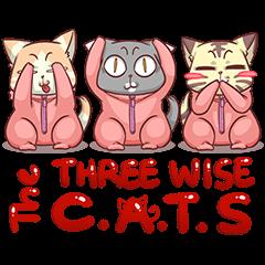CatRabbit : The Three Wise Cats