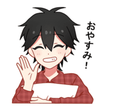 Cat boy ! sticker #10184657