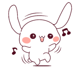 Ultra-small rabbit! sticker #10191177