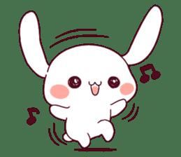 Ultra-small rabbit! sticker #10191177