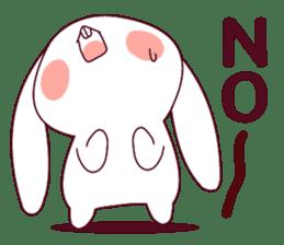Ultra-small rabbit! sticker #10191185
