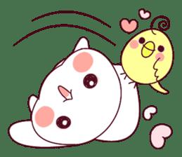 Ultra-small rabbit! sticker #10191186