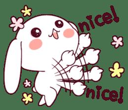 Ultra-small rabbit! sticker #10191187