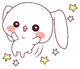 Ultra-small rabbit! sticker #10191190