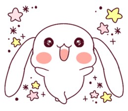 Ultra-small rabbit! sticker #10191191