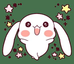 Ultra-small rabbit! sticker #10191191