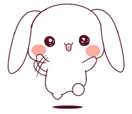 Ultra-small rabbit! sticker #10191194