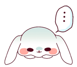 Ultra-small rabbit! sticker #10191198