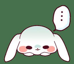 Ultra-small rabbit! sticker #10191198