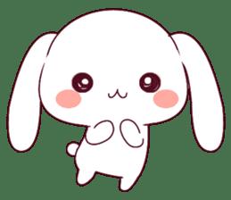 Ultra-small rabbit! sticker #10191199