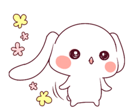 Ultra-small rabbit! sticker #10191204