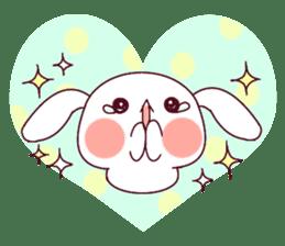 Ultra-small rabbit! sticker #10191209