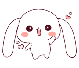 Ultra-small rabbit! sticker #10191211
